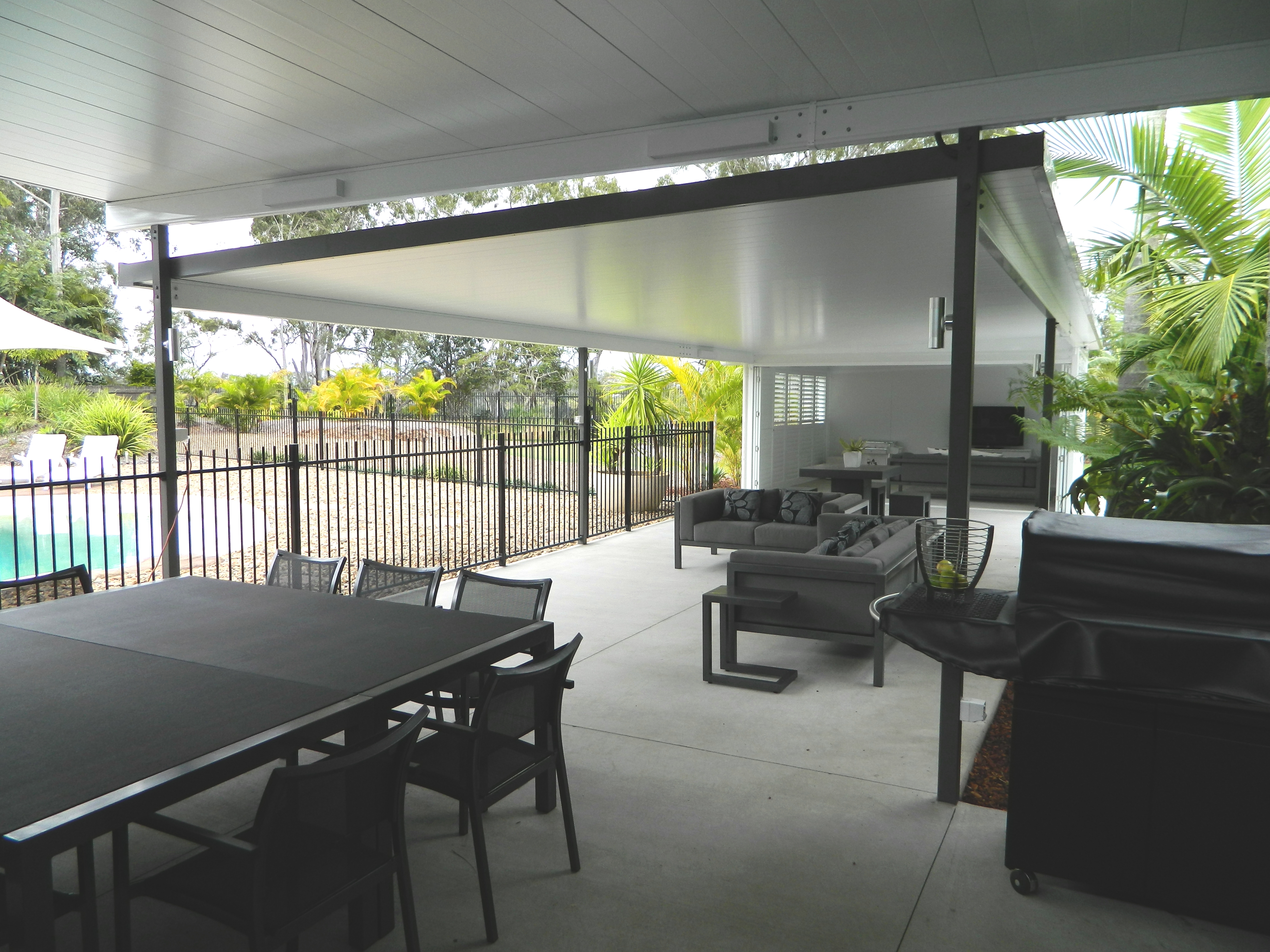 patio extensions 2. Skillion (flat) Insulated Patio Extensions 2 R
